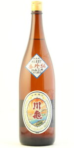 ☆【日本酒】川亀(かわかめ)山廃純米原酒H18BY番外編90%精白1800ml
