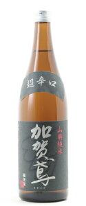 □【日本酒】加賀鳶山廃純米超辛口720ml