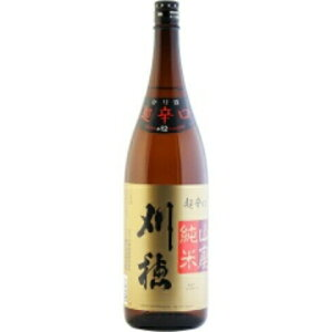 オススメ燗酒16撰【日本酒】刈穂山廃純米超辛口1800ml