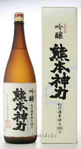 ○・【日本酒】千代の園 熊本神力 吟醸 1800ml