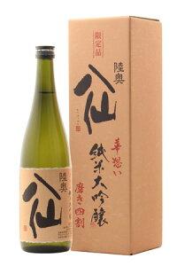 ☆・【日本酒】陸奥八仙(むつはっせん)純米大吟醸華想い40720ml※クール便発送