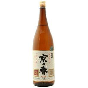 ☆【日本酒】京の春(きょうのはる)生もと純米1800ml