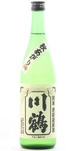 ☆【日本酒ひやおろし】川鶴(かわつる)純米無濾過原酒秋あがりさぬきよいまい720ml