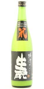 ☆【日本酒】梅津(うめつ)の生もと笊27/60黒ラベル720ml