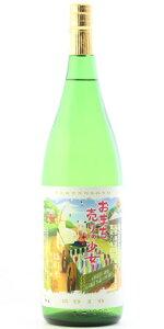 ☆【日本酒ひやおろし】たけのその純米吟醸おまち売りの少女1800ml
