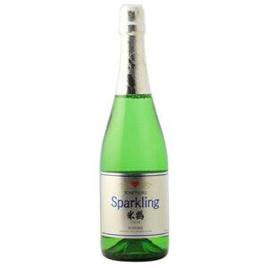☆【スパークリング日本酒】米鶴(よねつる)純米スパークリング750ml