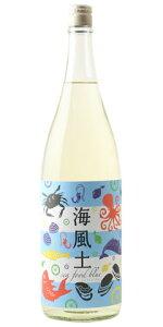 ☆【日本酒】富久長(ふくちょう)純米海風土シーフードブルー1800ml