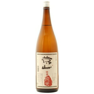 ○【日本酒】常山(じょうざん)特撰純米1800ml