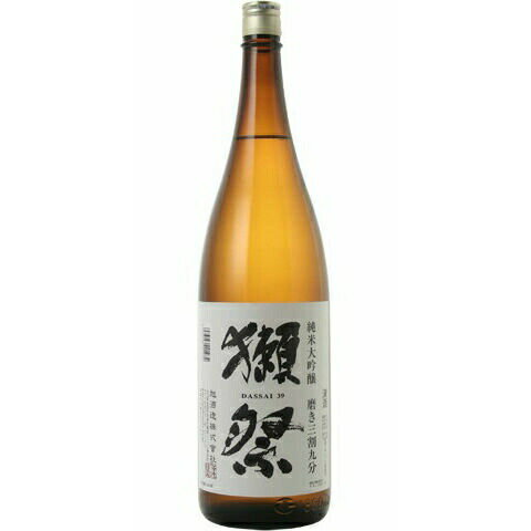 日本酒 獺祭(だっさい)純米大吟醸磨き三割九分1800ml※クール便※お一人様6本迄