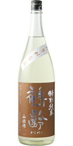 ☆【日本酒/KJ】鶴齢(かくれい)特別純米 無濾...の商品画像