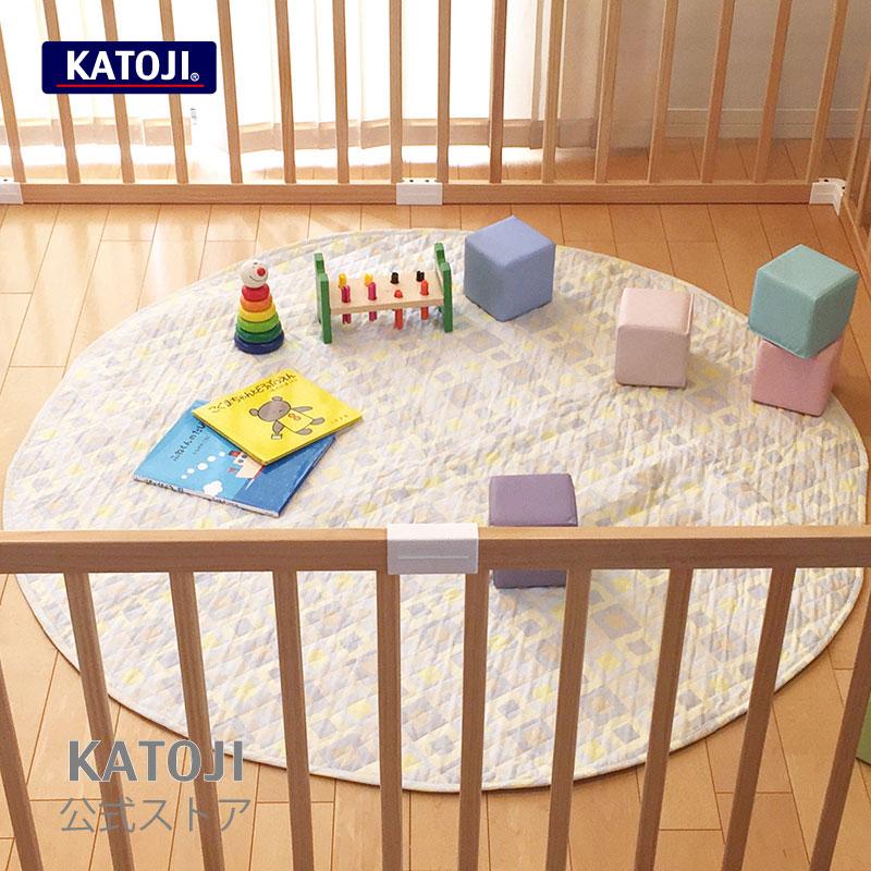 ベビー寝具 まーるいプレイマット [選べる2色]