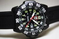 限定の赤針!スイス製LUMINOX【ルミノックス】U.S.NavySEALs【ネイビーシールズ】レッドハンド・ダイブウォッチ200m防水/腕時計
