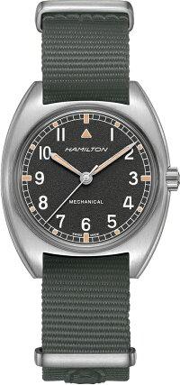 スイス製HamiltonハミルトンKhakiPilotPioneerカーキ・パイロット・パイオニア・メカ手巻き腕時計ミリタリーウォッチ6BH76419931