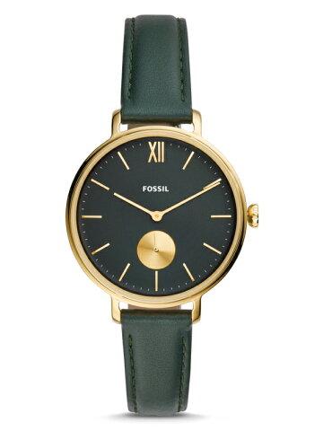 グリーン×ゴールドFOSSIL【フォッシル】KALYA・レディース・デザインウォッチ/女性用腕時計/正規代理店商品/送料無料/クリスマス/腕時計