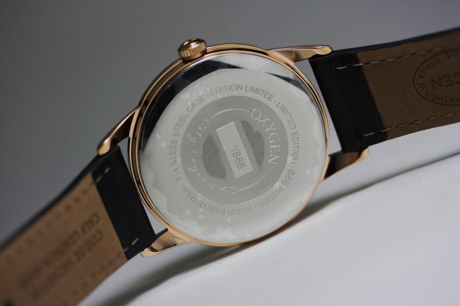 世界限定888本!フランスのOXYGEN【オキシゲン】CLSS40クォーツ・デザインウォッチ/City Legend/男女兼用腕時計/正規代理店商品