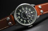 LACOの人気モデル!復刻!ドイツ空軍採用のLaco【ラコ】自動巻きAACHENミリタリーウォッチ/腕時計
