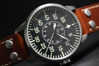 復刻!ドイツ空軍採用のLaco【ラコ】自動巻きAACHENミリタリーウォッチ/腕時計