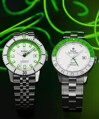 スイス製ZODIACゾディアックSuperSeaWolf53シーウルフNEONSTORYネオンストーリー自動巻き腕時計正規代理店商品ネオングリーン