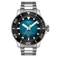 TissotティソSeastar2000シースターオートマチック・プロフェッショナル自動巻き腕時計600m防水正規代理店商品Powermatic80搭載ダイバーウォッチスイス製ウルトラマリンブルーT120.607.11.041.00