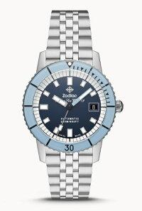 スイス製ZODIACゾディアックSuperSeaWolf53シーウルフ自動巻き腕時計BACKTOBASICS正規代理店商品