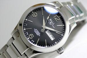 在庫処分価格!スイス製BALLWATCH【ボール・ウォッチ】エンジニアオハイオ40自動巻き腕時計/Ohio40mm/マイクロガスライト/並行輸入/170,500円/送料無料