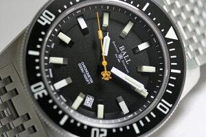 1962年のスキンダイバーを復刻しました!スイス製BALLWATCH【ボールウォッチ】エンジニアマスター2スキンダイバー2クロノメーター自動巻き腕時計/500m防水ダイバーズウォッチSkindiver並行輸入品/270,600円/送料無料