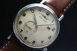 ドイツ製IRONANNIE【アイアン・アニー】AmazonasImpressionクォーツ腕時計/スモールセコンド/メンズウォッチ/正規代理店商品/Junkersユンカース