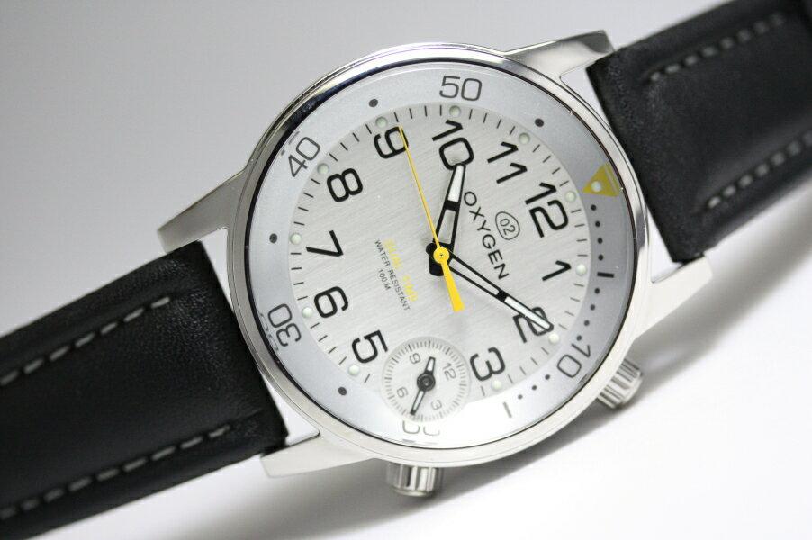 【デッドストック】フランスのOXYGEN【オキシゲン】クォーツ・デュアルタイム・ウォッチ/男性用腕時計/正規代理店商品