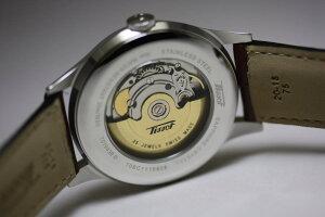 クラシカルなデザインでリーズナブルな自動巻き!スイス製Tissot【ティソ】VISODATE【ヴィソデイト】ヘリテージ自動巻き/腕時計/正規代理店商品