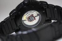 スイス製LUMINOX【ルミノックス】MODERNMARINER6500SERIESブラックアウト自動巻きダイバーウォッチ/腕時計/トリチウム/正規代理店商品