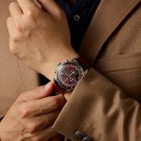 ドイツのZEPPELINツェッペリンアラームクロノグラフ腕時計8680-5ツェッペリン号生誕100周年記念モデル62,700円日本限定レッド