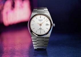 スイス製TissotティソPRXAutomaticピーアールエックスオートマティック自動巻き腕時計正規代理店商品男性用腕時計10気圧防水メーカー保証付復刻モデルT-クラシックT137.407.21.031.00Powermatic80