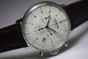 ドイツ製Junkers【ユンカース】Bauhaus【バウハウス】クォーツ・クロノグラフ腕時計/デザインウォッチ