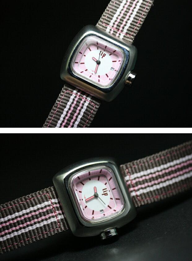 デッドストック!フランスのLIP【リップ】Mini Boogie【ミニブギー】デザインウォッチ/1972年の復刻モデル/リバイバルシリーズ/女性用腕時計/レディース