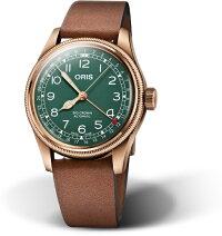 80周年記念!スイス製ORIS【オリス】BigCrownPointerDateビッグクラウン・ポインターデイト誕生80周年自動巻き腕時計/ブロンズケース採用/正規代理店商品