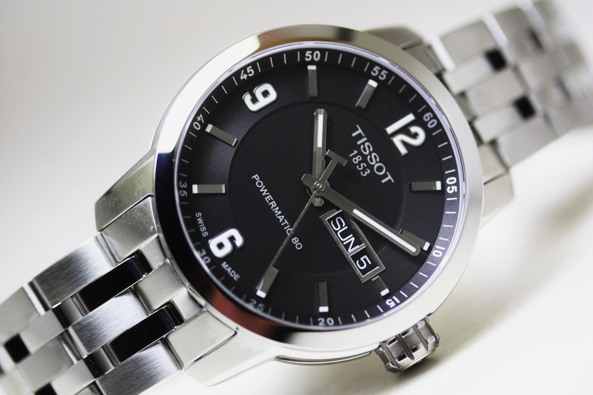 スイス製Tissot【ティソ】PRC200 Automatic自動巻きPOWERMATIC80搭載!パワーマティック/20気圧防水腕時計/正規代理店商品:加坪屋(かつぼや)