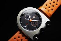 フランスのLIP【リップ】マッハ2000BLACKORANGEクロノグラフ・デザインウォッチ腕時計