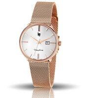フランスのLIPリップDAUPHINEドフィネ・デイト/デザインウォッチ腕時計