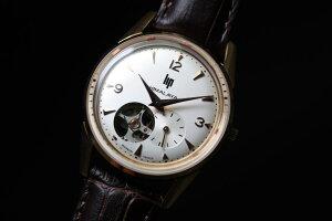 ケース直径約35ミリ!復刻!フランスのLIP【リップ】HIMARAYA【ヒマラヤ】オープンハート自動巻き腕時計/ボーイズサイズ