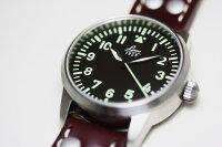 ケース直径約36ミリ!ドイツ空軍採用のLaco【ラコ】自動巻きOsakaミリタリーウォッチ/腕時計