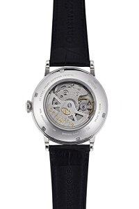 日本製ORIENT【オリエント】オリエントスター自動巻きヘリテージゴシック腕時計/パワーリザーブ搭載クラシック・デザイン/チャビーフォント