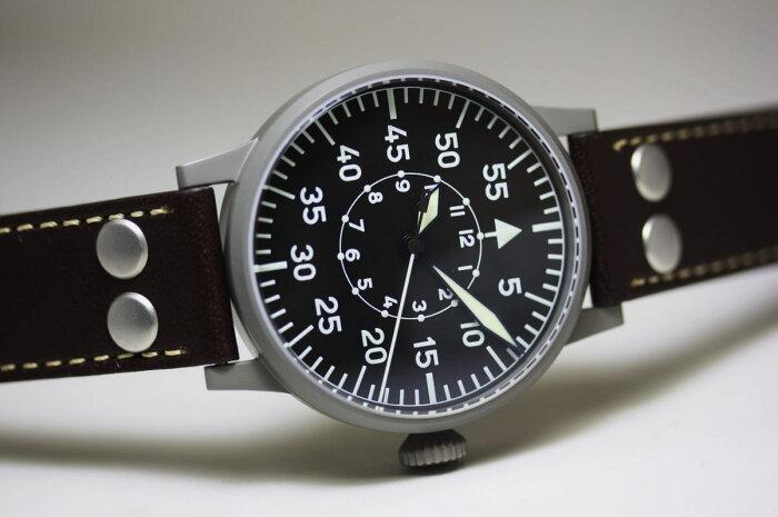 ドイツ空軍採用Laco【ラコ】自動巻き腕時計Paderborn【パーダーボルン】ミリタリーウォッチ