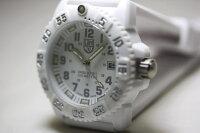 限定ホワイトアウト!スイス製LUMINOX【ルミノックス】U.S.NavySEALs【ネイビーシールズ】ブラックアウト!ダイブウォッチ200m防水/腕時計