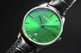 ドイツ製SCHAUBURG WATCH LINDBURGH&BENSON【シャウボーグ】CLASSOCO40グリーン自動巻き腕時計/正規代理店商品