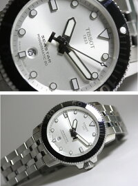 スイス製Tissot【ティソ】Seastar1000【シースター】自動巻き腕時計/300m防水/正規代理店商品/Powermatic80搭載