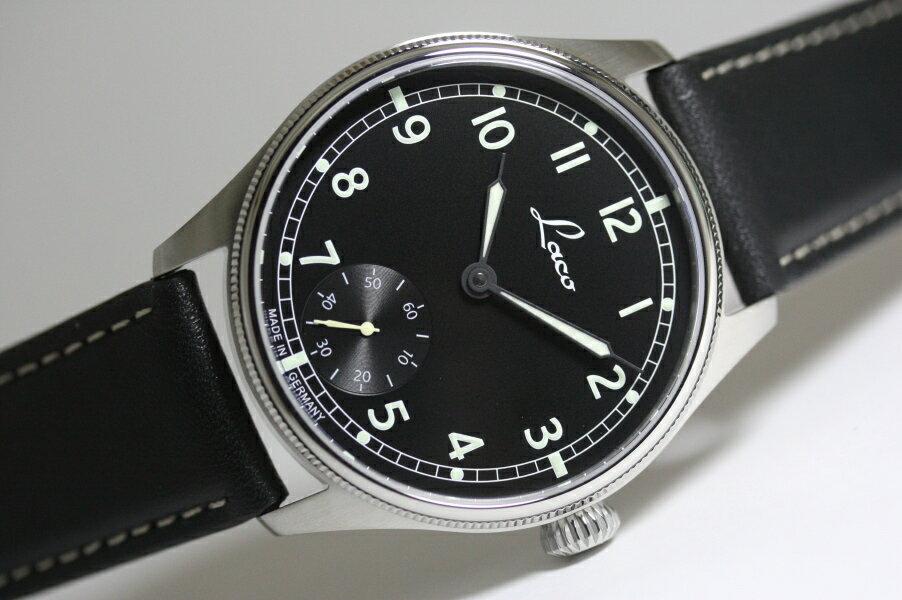 ドイツ製LACO【ラコ】NAVY Cuxhaven【ネイビー・クックスハーフェン】手巻き腕時計/ユニタス/クラシック・デザイン/正規代理店商品