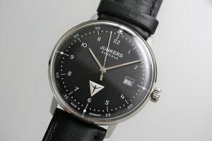 【外箱が無いため在庫処分価格】ドイツ製JunkersユンカースBauhausバウハウスクォーツ腕時計デザインウォッチ/ブラック正規代理店商品メーカー希望小売価格37,400円