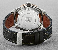 スイス製ORIS【オリス】×桃太郎ジーンズのコラボ/ダイバーズ65自動巻き腕時計/ヴィンテージ・ダイバーズ・デザイン/正規流通商品/日本のデニムブランド