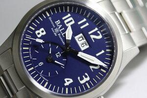 スイス製BALLWATCH【ボールウォッチ】エンジニアマスター2ボイジャー自動巻き腕時計/デュアルタイム&ビックデイト/並行輸入商品/メンズウォッチ/送料無料/EngineerMaster2Voyager/ケース直径約40ミリ