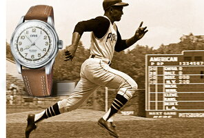世界限定3000本スイス製ORIS【オリス】BigCrown【ビッククラウン】ロベルト・クレメンテ自動巻き腕時計/ROBERTOCLEMENTE//正規代理店商品